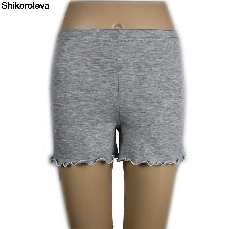 5911ceb6e solid color shorts modal cotton short feminino plus size shorts women 7XL  6XL 5XL 4XL 3xl