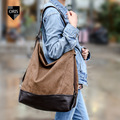 Designer Quality Canvas Women's Shoulder Bag Fashion Female Crossbody Bag Casual Tote Bucket Bag Hot Selling Patchwork Handbag