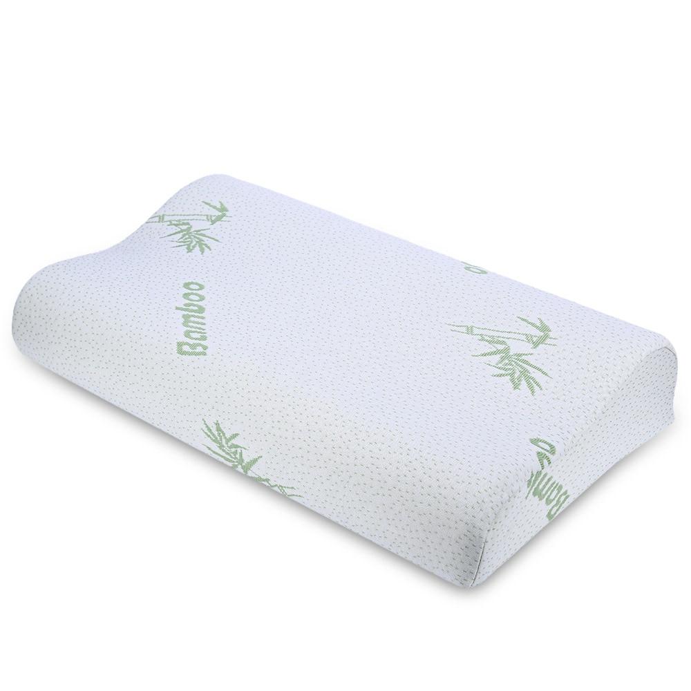 Wedge Pillow Ergonomic Pillows Memory Foam Neck Curve ...