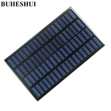 BUHESHUI 18V 2 5W Polycrystalline Solar Cell Module For Charging 12V Battery DIY Solar Panel Charger