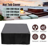200/220/240*85cm Hot Tub Dust Cover Durable, Anticorrosive, Anti uv, Dust proof, Heat resistant And Cold resistant