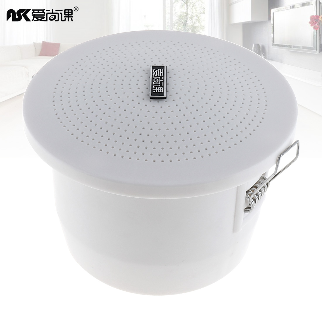3 Inch 3w Fashion Waterproof Radio Ceiling Speaker Public