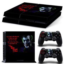 Batman Protective Cover Skins For PS4 Console + 2Pcs Controller Vinyl PS 4 Game Skin Sticker