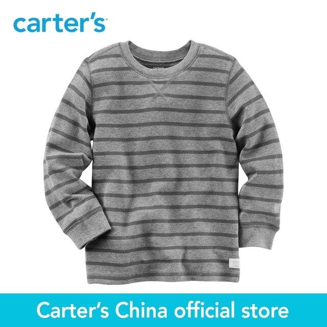 f8572addf Carter 1 unids bebé niños de Manga Larga A Rayas Camiseta Térmica 263G510