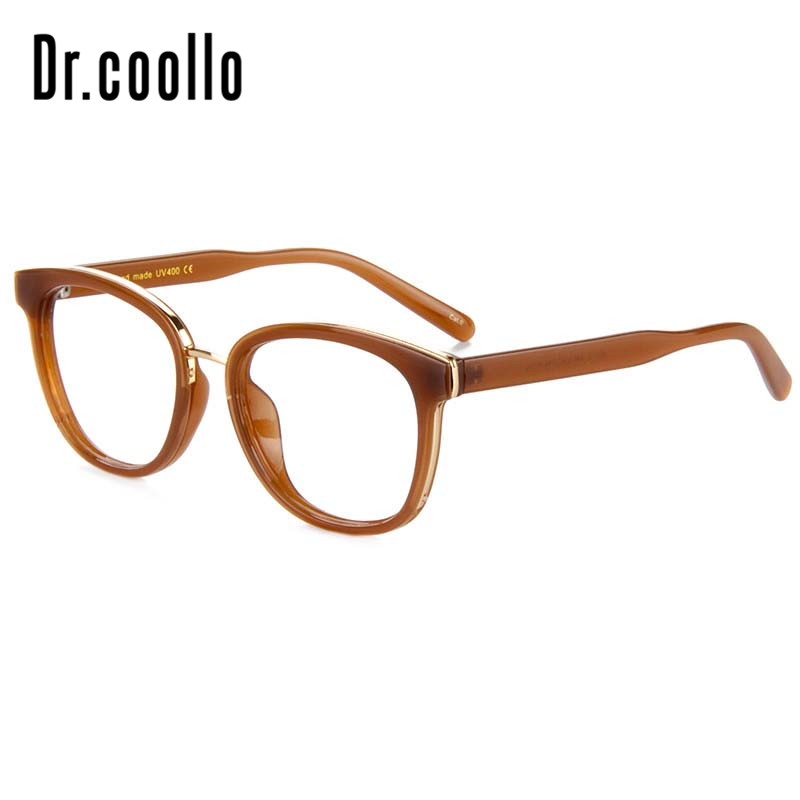 Double Bright Color Computer Glasses Tr90 Flexible Optical Myopia Frames Big Large Prescription Eyewear Frames for Women