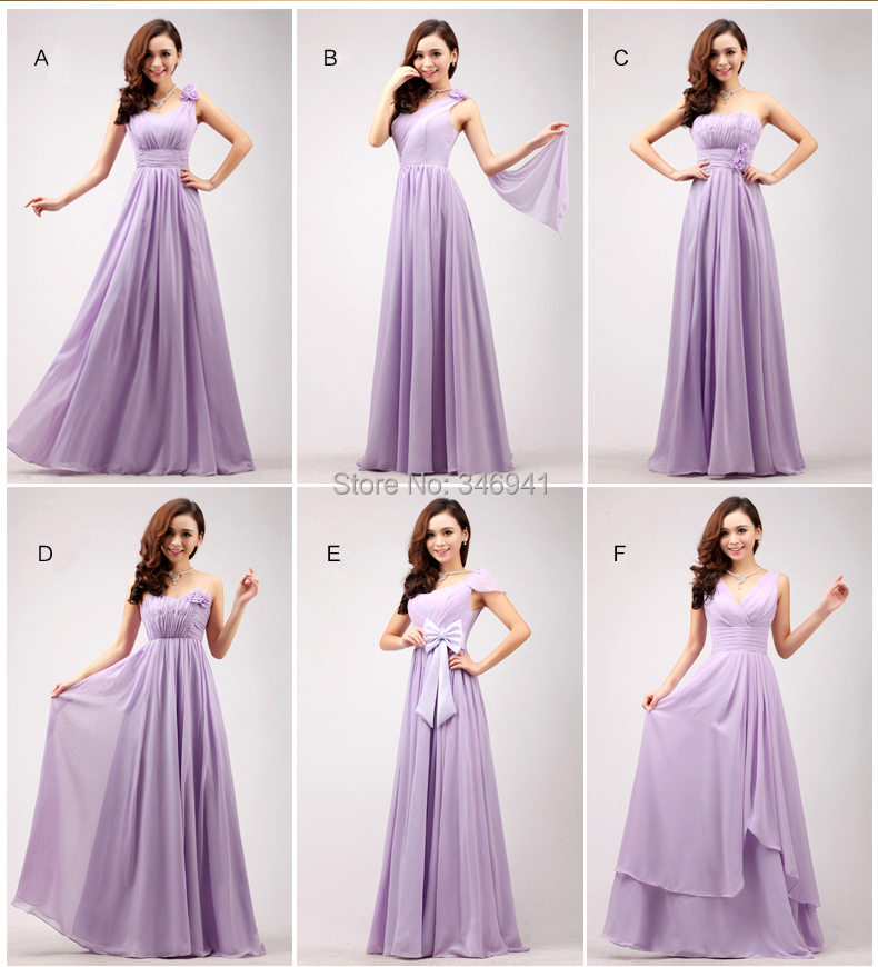 Purple Chiffon Dress
