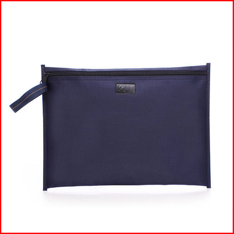 Oxford cloth file bag Dinsmore deep blue can be customized business 130*380*270mm filling product 1pcs/set