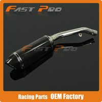 Exhaust System Slip On Stainless Steel Middle Pipe + Carbon Muffler with Removable DB Killer Z800 Z 800 13 14 15 Motorcycle