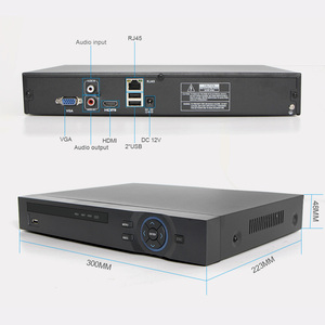 Image 4 - H.265 CCTV NVR 32CH 1080P / 25Ch 5MP / 8Ch 8MP NVR ONVIF P2P Cloud Support 2HDD MAX 8TB 32Ch Security NVR Network Video Recorder