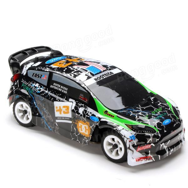 Wltoys K989 1/28 2.4G 4WD Brushed RC Remote Control Rally Car RTR with Transmitter  RC Drift Car Alloy Remote Control Car 5