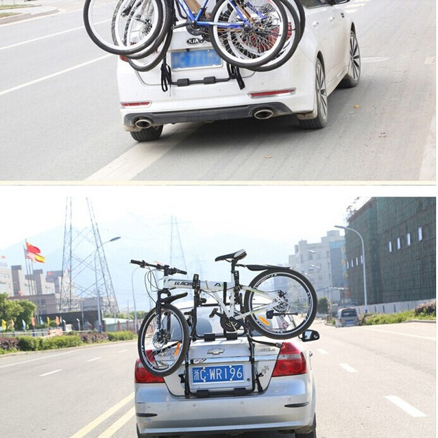 Zento for rac k car bicycle rack luggage rack after the car ...