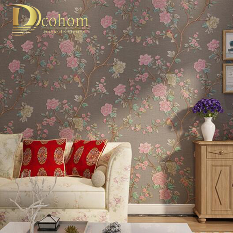 Vintage wallpaper home decor wallpaper home for Wallpaper home vintage