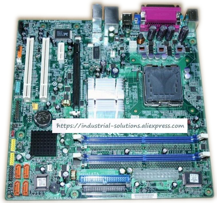 Motherboard for L-I945GC 945GC-M2 100% tested perfect quality map 950 flex pci control industrial motherboard 100% tested perfect quality