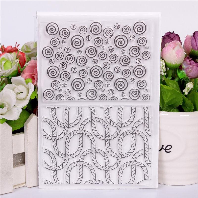 Bricolage Scrapbooking Caoutchouc Silicone Fleuriste Timbres Transparents