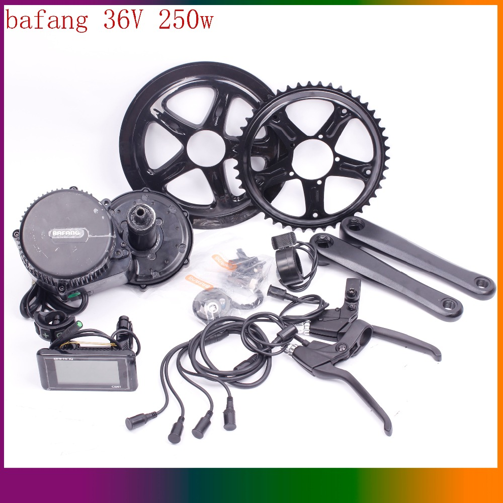 36v 250w 8fun/bafang Motor C965 LCD BBS01 Latest Controller Crank Motor Eletric Bicycles ...