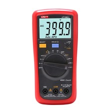 UNI-T UT136C+ NCV Digital Multimeter Auto Range AC/DC Voltage Resistance Capacitance Frequency Temperature HFE Test fluke 101 auto range digital multimeter for ac dc voltage resistance capacitance and frequency measurement