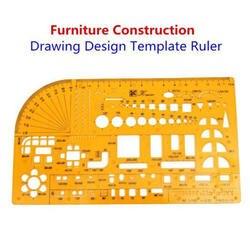 2019 модельная линейка весы № 4355 здания мебель рисунок шаблон для сборка мебели многофункциональная линейка