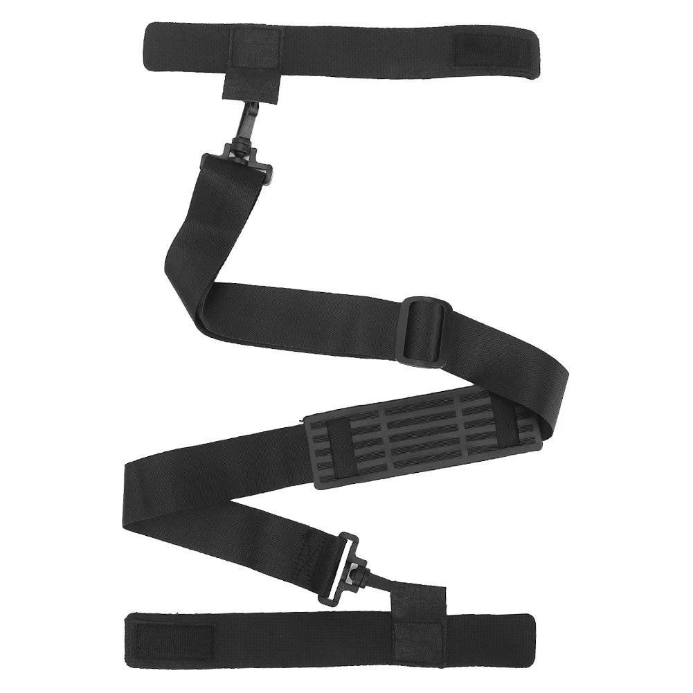 Fishing Rod Carrier Strap Sling Band Adjustable Shoulder Belt Travel Tackle