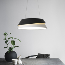 LICAN, Современная подвесная люстра, освещение для офиса, столовой, кухни, Lustre Avize, современная люстра для высокого потолка