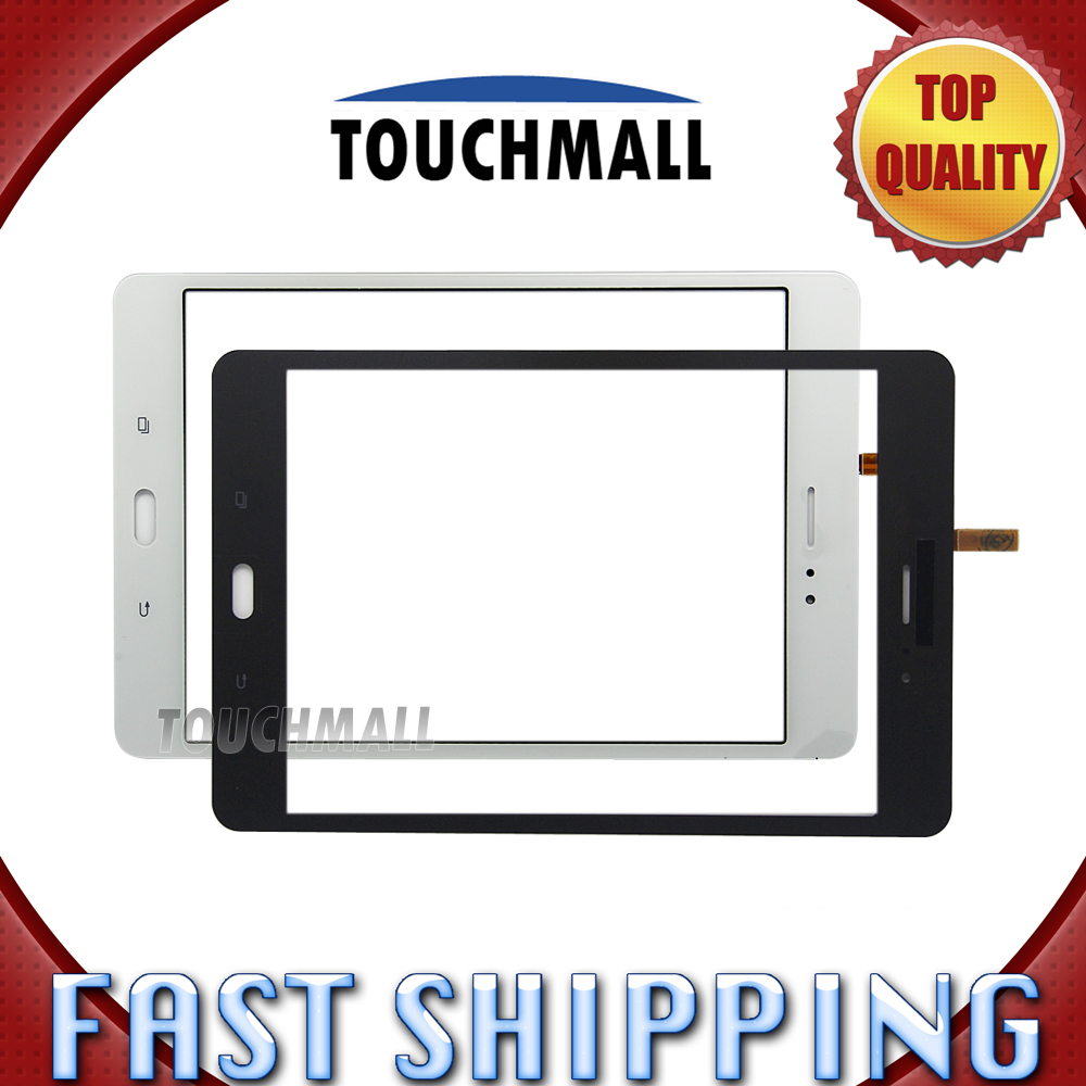 For New Touch Screen Digitizer Glass Replacement Samsung Galaxy Tab A SM-T355 T355 8-inch White Black Free Shipping free tools replacement for samsung galaxy tab s 10 5 sm t800 touch screen digitizer replacement white track code