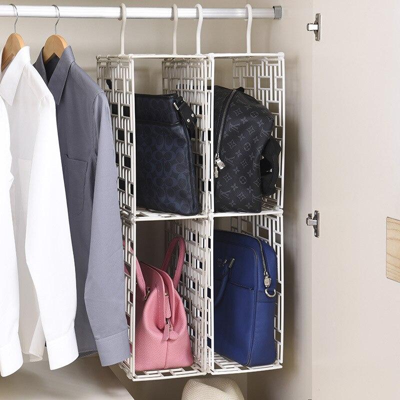 Removable Bag Receive Artifact Closet Hanging Rack Sorting Basket Multilayer Plastic Storage Shelf In Holders Racks From Home