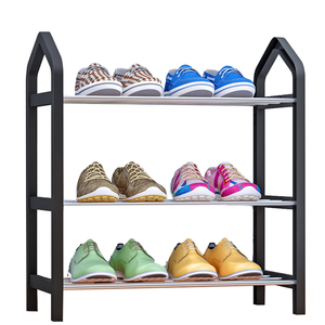 Image 1 - Home Furniture Simple Shoe Rack Multi layer Storage Shoe Cabinet Economical Assembly Shoe Shelf Storage Organizer Stand