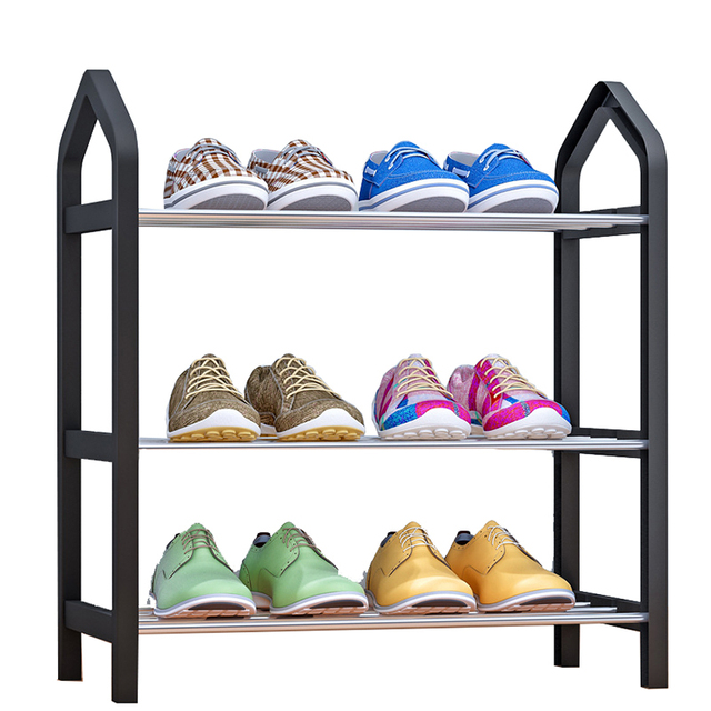 Home Furniture Simple Shoe Rack Multi layer Storage Shoe Cabinet Economical Assembly Shoe Shelf Storage Organizer Stand