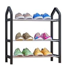 Home Möbel Einfache Schuh Rack Multi schicht Lagerung Schuh Schrank Wirtschaftlich Montage Schuh Regal Veranstalter Stehen
