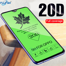 20D Tempered Glass For OPPO F5 F7 F9 A73 V15 Screen Protector Full Cover on the R17 F11 Pro R15 R13 ONE Film