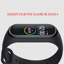 For Xiaomi Mi Band 4 Screen Protector Soft Film For Xiaomi Mi Band 4 Smart Bracelet Accessories Full Screen Permeability Film