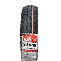 Vacuum Tubeless Tire 3.50-10 / 15x3.5 / 350-10 4PR Electric Scooters Tyres Vehicle e-Bike Electric Scooters Accessories Tire