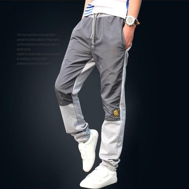 DisappeaRanceLove Marca 2017 de Otoño e invierno pantalones casuales pantalones masculinos de la salud masculinos pantalones delgados