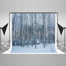 Kate Forest Christmas Backdrops Photography 10x10ft Snow  Photography Backdrops Forzen Backgrounds For Photo Studio kate photography backdrops smart watch wearable devices green screen chromakey backgrounds for photo studio