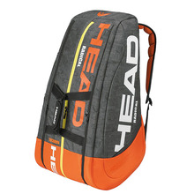 adults head tennis racket bag bagpack breathable sports backpack for 1 2 pcs rackets racquete with shoes bag double shoulder Original Head Radical Tennis Bag Max For 9 Tennis Rackets Professional Male Sports Backpack With Independent Shoes Bag Djokovic