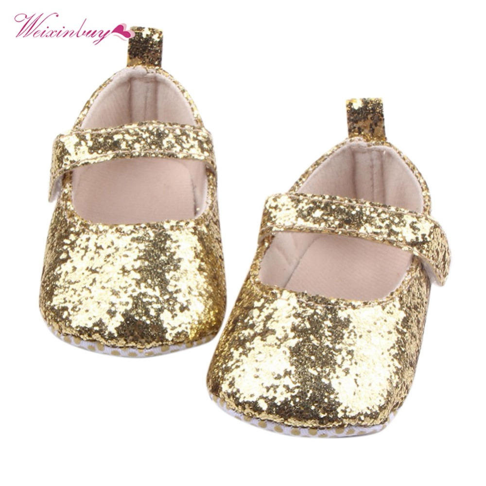 Newborn Baby Girl First Walkers Toddler Baby Girls PU Leather Sequin Infant Kids Soft Sole Shoes Bottom Bebe Princess ShoesNewborn Baby Girl First Walkers Toddler Baby Girls PU Leather Sequin Infant Kids Soft Sole Shoes Bottom Bebe Princess Shoes