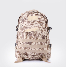 Men's Outdoor Canvas Backpack Vintage Military Tactical Backpacks Schoolbag Hiking Camping Camouflage Backpack Travel Bag