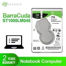 Seagate 1 ТБ 2,5 «Внутренний жесткий диск для ноутбука диск 7 мм 5400 об/мин SATA 6 ГБ/сек. 128 МБ кэш HDD для ноутбука ST1000LM048