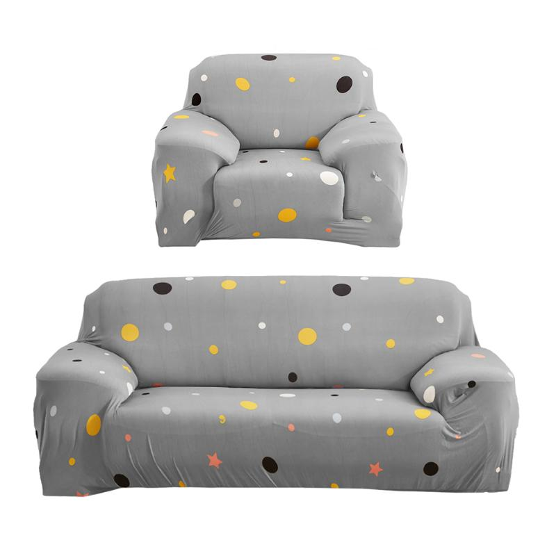 1/2/3/4 Seat/Armchair/Sectional/Corner Sofa Cover Cloth Turnkey Antiskid Spandex Stretch Universal Sofa Slipcover