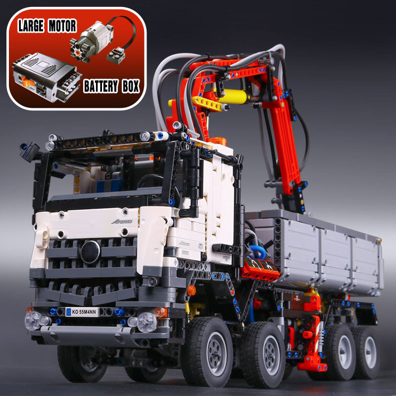2793pcs LEPIN 20005 technic series 42023 Arocs truck Model Building Block Bricks Compatible 05007 Educational Boys Toy Gift lepin 22001 pirate ship imperial warships model building block briks toys gift 1717pcs compatible legoed 10210
