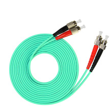 3m (10ft) FC UPC to ST UPC Duplex OM3 Multimode PVC (OFNR) 3.0mm Fiber Optic Patch Cable лолита красногорск