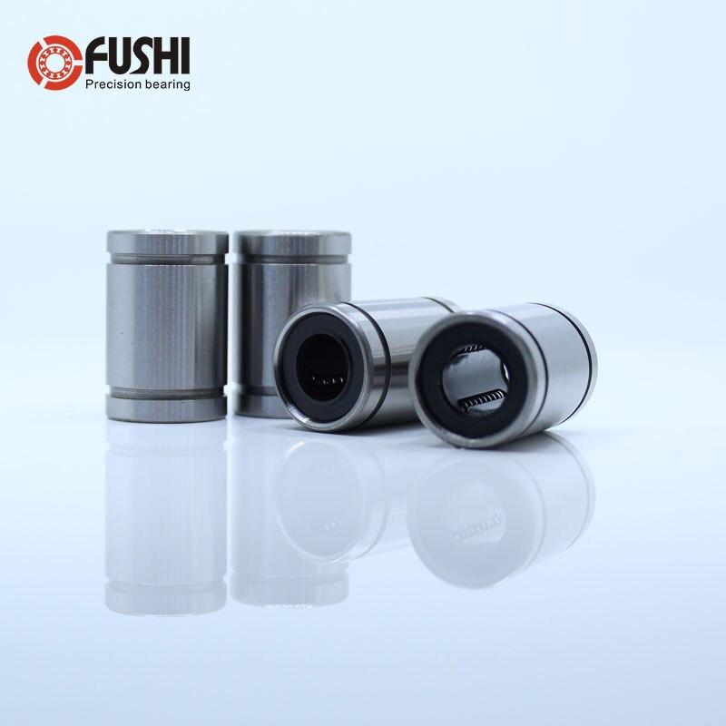 LM4UU LM5UU LM6UU LM8UU LM10UU Linear Motion Bearings ABEC-5 ( 4 Pcs ) Linear Motion Bearings LM 4mm 5mm 6mm 8mm 10mm