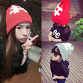 New parent-child cap letters knitted cap hat children han edition autumn winter to keep warm