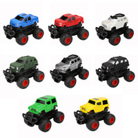 Children Kids Toy Decor Children Mini Vehicle Pull Back Cars With Big Tire Wheel Creative Gifts Educational Toys W522
