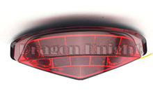 Мотоцикл Аксессуары Для DUCATI Monster 659 13-14 Встроенным СВЕТОДИОДНЫМ Задний Фонарь поворотники Красные