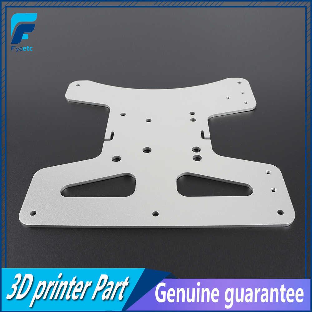 โคลนอลูมิเนียม Y Carriage แผ่นชุดเตียงอุ่นรองรับ 3-Point Leveling สำหรับ Creality Ender 3 Ender-3 Pro ender-3S 3D เครื่องพิมพ์