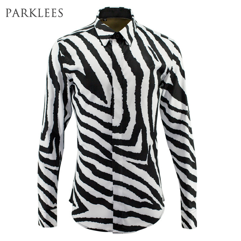 Online Get Cheap Zebra Print Mens Dress Shirt -Aliexpress.com ...