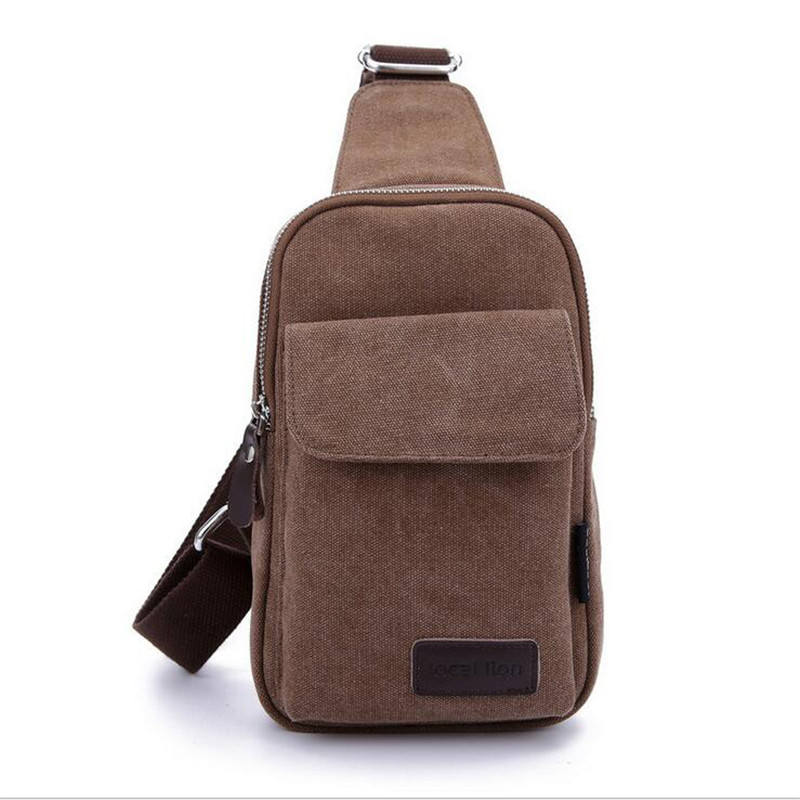 55132f9484 Hot Sale Fashion Summer New Small Chest Bag Men s Leisure Brand Canvas  Diagonal Bag Joker Waterproof Wear-Resistant Bag B009