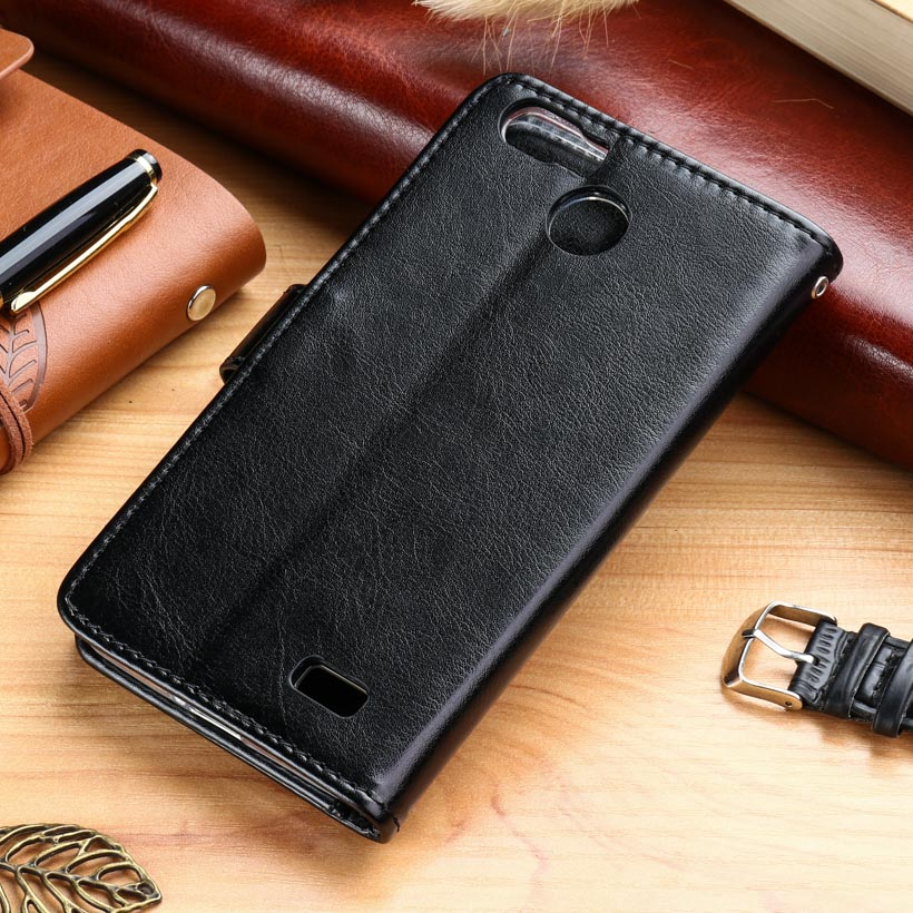 AKABEILA Cases For Blackview A7 A7 Pro 5.0 inch Leather Wallet Phone Cover Case Housing Business Holster