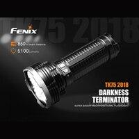 Оригинальный FENIX TK75 2018 тьма Терминатор Cree XHP35 HI светодиодный 5100 люмен супер яркий многофункциональный фонарик
