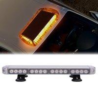 LED 23 Inch 114W Amber Emergency Warning Strobe Lights Flash Directional Roof Top Led Light Bar for SUV CAR TRUCK